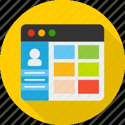 app, application, design, development, gui, ux, web icon
