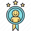 achievement, award, badge, reward icon