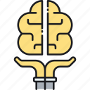 brain, mind, mindset icon