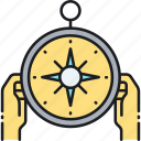 compass, gps, location, navigation icon