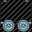 glasses, specs, spectacles