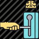 idea, idea protection, protection icon