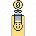 funding, income, investment, money, money plant, money tree