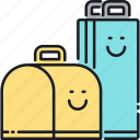 bag, bags, packaging, packaging design icon
