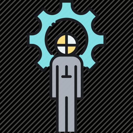 dummy, prototype, prototyping, test dummy icon