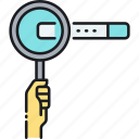 discover, find, magnifier, magnifying glass, search