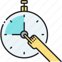 clock, goals, short, stopwatch, term, time, timer icon
