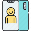 mobile phone, phone, smartphone icon