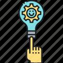 idea, lightbulb, solution