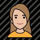 avatars, startup, casual, girl, woman