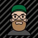 avatars, startup, beard, male, man