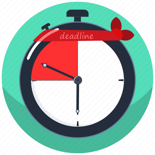 clock, deadline, development, project, time, timer, work icon