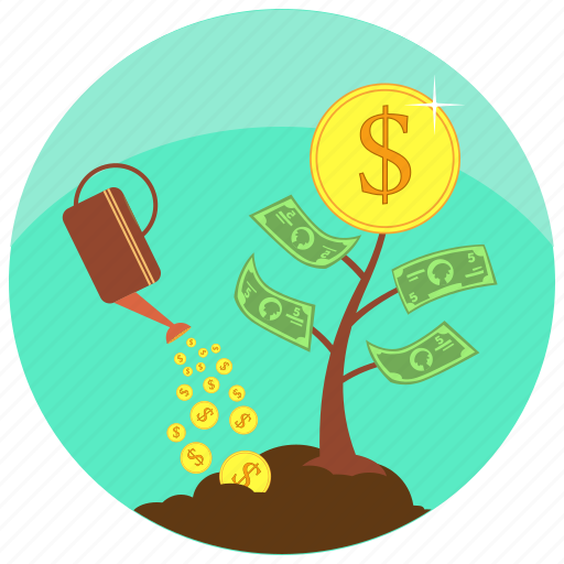 business, company, create, finance, grow, investment, money icon