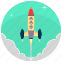 development, product, project, release, rocket, startup, startup rocket