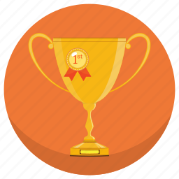 award, best, cup, first, startup, succes, winner icon