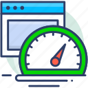 gauge, internet, speed, speedometer