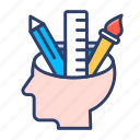 analysis, brain, creativity, productivity, thinking