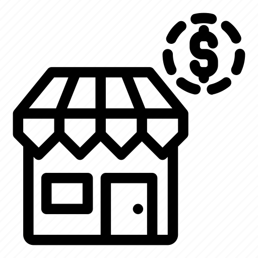 business, home, house, shop, store icon