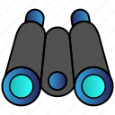 binoculars, search icon
