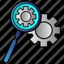 loupe, optimization, search, seo icon
