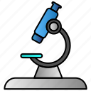 lap, microscope, research icon
