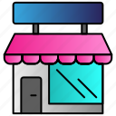 retail, shop, store icon