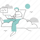 startups, tech, technology, minimalist, coding, development, laptop