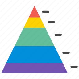 analytics, business, chart, diagram, marketing, presentation, pyramid icon