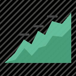 bull market, business, diagram, graph, grow, marketing, stat icon