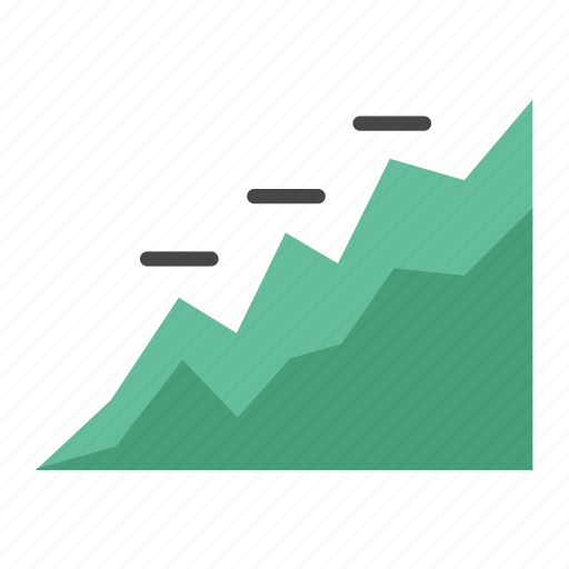 Bull market, graph, stat, business, diagram, grow, marketing icon - Download on Iconfinder