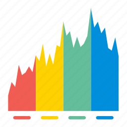 chart, diagram, graph, presentation, report, stat, statistics icon