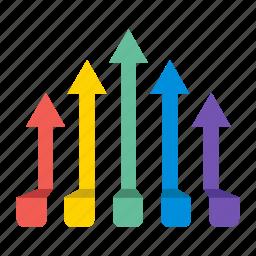 business, chart, diagram, grow, marketing, plan, stat icon