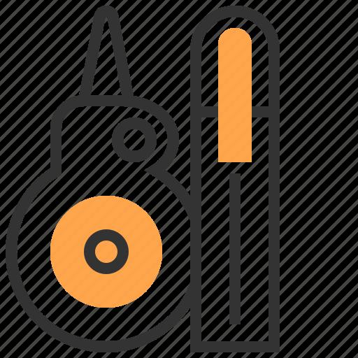 creative, design, editing, glue, office, stationery icon