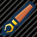 pen, signature, stationery, streamline, write icon