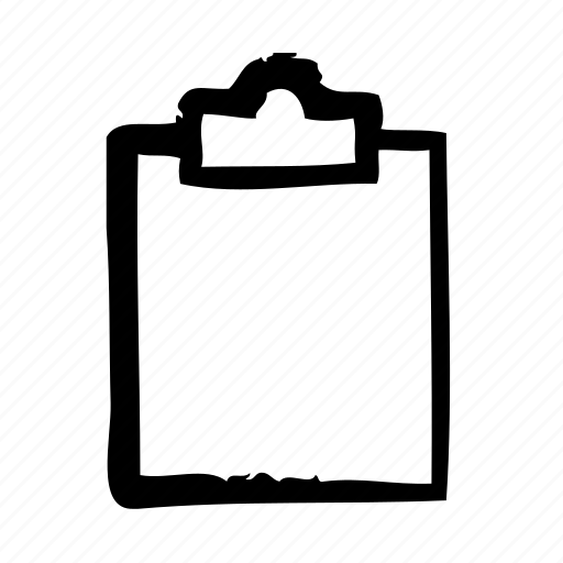 clipboard, desk, notes, office, stationary icon
