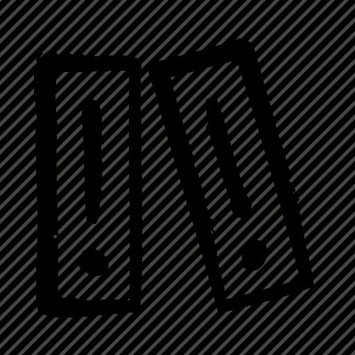 business, desk, folder, office, stationary icon