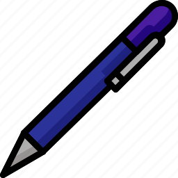 pen, stationary, write, writting icon