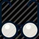 fashion, glasses, read, sunglasses icon