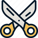 barber, cut, scissor, scissors, tool icon