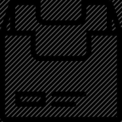 Box, empty icon - Download on Iconfinder on Iconfinder