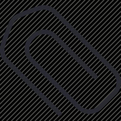attach, attachment, clip, paperclip icon