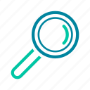 find, magnifying glass, optimization, search, seo, zoom icon