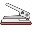 equipment, hole, paper, puncher, stationery icon