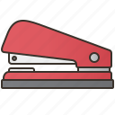 clip, office, paperwork, stapler, stationery icon