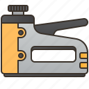 craft, gun, press, stapler, tool icon