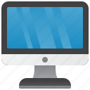 computer, desktop, device, electronics, office