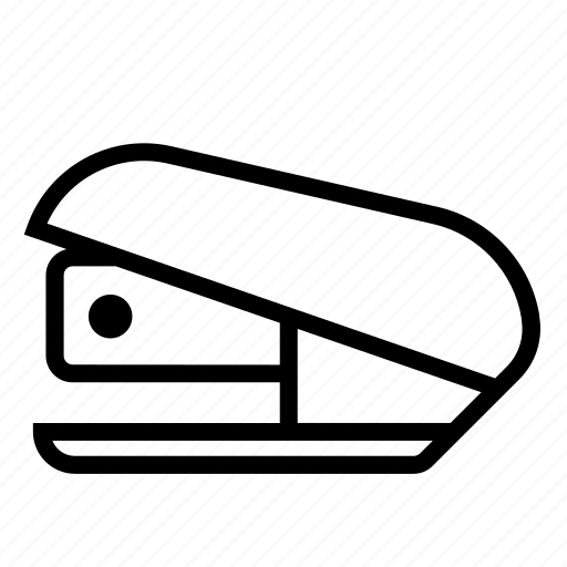 stapler, staples, stationery icon