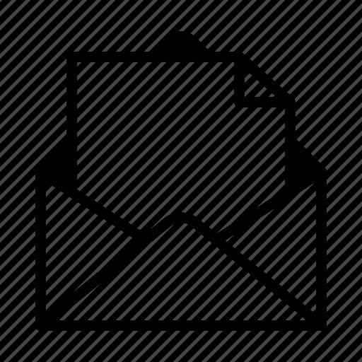 address, email, envelop, letter, message, paper, postal icon