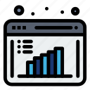 business, computation, data, evaluation, report, research icon