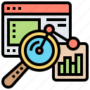 analysis, data, information, report, summarize icon